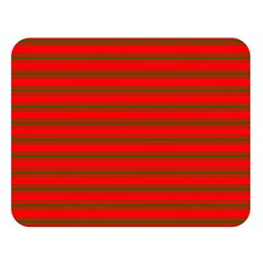 Christmas Red And Green Bedding Stripes Double Sided Flano Blanket (large)