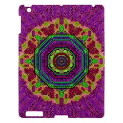 Mandala In Heavy Metal Lace And Forks Apple Ipad 3/4 Hardshell Case