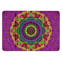Mandala In Heavy Metal Lace And Forks Samsung Galaxy Tab 8 9  P7300 Flip Case