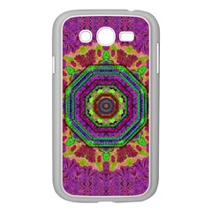 Mandala In Heavy Metal Lace And Forks Samsung Galaxy Grand Duos I9082 Case (white)