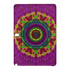 Mandala In Heavy Metal Lace And Forks Samsung Galaxy Tab Pro 10 1 Hardshell Case