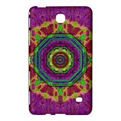 Mandala In Heavy Metal Lace And Forks Samsung Galaxy Tab 4 (8 ) Hardshell Case