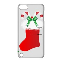 Christmas Stocking Apple Ipod Touch 5 Hardshell Case With Stand