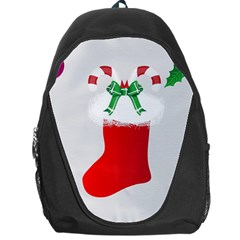 Christmas Stocking Backpack Bag