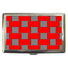Black And White Red Patterns Cigarette Money Cases