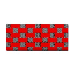 Black And White Red Patterns Cosmetic Storage Cases