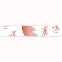 Moon Moonface Pattern Outlines Small Bar Mats