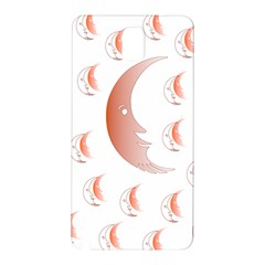 Moon Moonface Pattern Outlines Samsung Galaxy Note 3 N9005 Hardshell Back Case