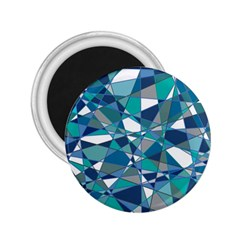 Abstract Background Blue Teal 2 25  Magnets