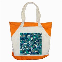 Abstract Background Blue Teal Accent Tote Bag
