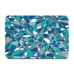 Abstract Background Blue Teal Plate Mats