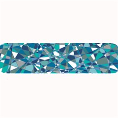 Abstract Background Blue Teal Large Bar Mats
