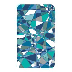 Abstract Background Blue Teal Memory Card Reader