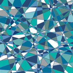 Abstract Background Blue Teal Magic Photo Cubes