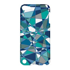 Abstract Background Blue Teal Apple Ipod Touch 5 Hardshell Case
