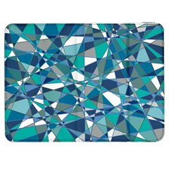 Abstract Background Blue Teal Samsung Galaxy Tab 7  P1000 Flip Case