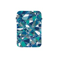Abstract Background Blue Teal Apple Ipad Mini Protective Soft Cases