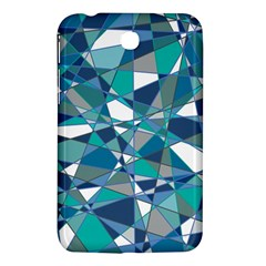 Abstract Background Blue Teal Samsung Galaxy Tab 3 (7 ) P3200 Hardshell Case
