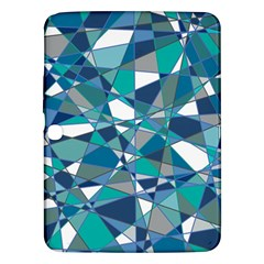 Abstract Background Blue Teal Samsung Galaxy Tab 3 (10 1 ) P5200 Hardshell Case