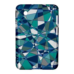 Abstract Background Blue Teal Samsung Galaxy Tab 2 (7 ) P3100 Hardshell Case