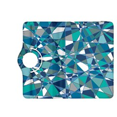 Abstract Background Blue Teal Kindle Fire Hdx 8 9  Flip 360 Case
