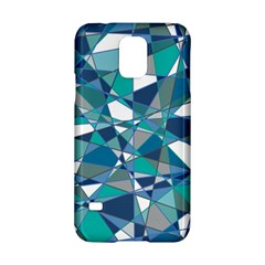 Abstract Background Blue Teal Samsung Galaxy S5 Hardshell Case