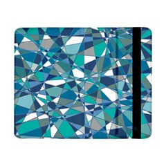 Abstract Background Blue Teal Samsung Galaxy Tab Pro 8 4  Flip Case