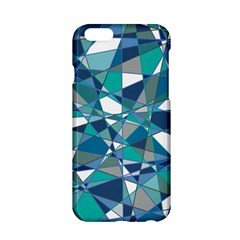 Abstract Background Blue Teal Apple Iphone 6/6s Hardshell Case