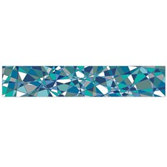 Abstract Background Blue Teal Large Flano Scarf