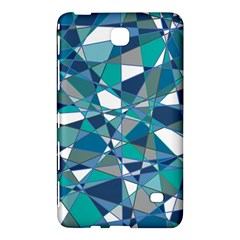 Abstract Background Blue Teal Samsung Galaxy Tab 4 (8 ) Hardshell Case