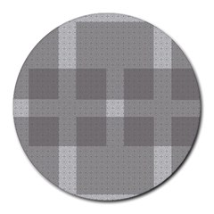 Gray Designs Transparency Square Round Mousepads