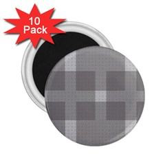 Gray Designs Transparency Square 2 25  Magnets (10 Pack)