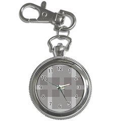 Gray Designs Transparency Square Key Chain Watches