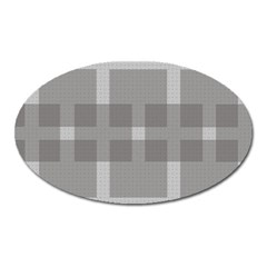 Gray Designs Transparency Square Oval Magnet