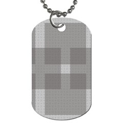 Gray Designs Transparency Square Dog Tag (two Sides)