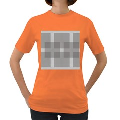 Gray Designs Transparency Square Women s Dark T Shirt