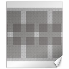 Gray Designs Transparency Square Canvas 8  X 10