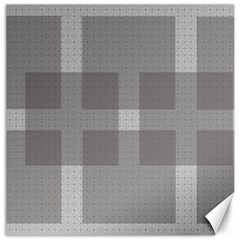 Gray Designs Transparency Square Canvas 12  X 12