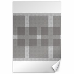 Gray Designs Transparency Square Canvas 24  X 36