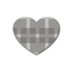 Gray Designs Transparency Square Heart Coaster (4 Pack)