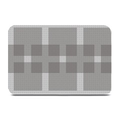 Gray Designs Transparency Square Plate Mats
