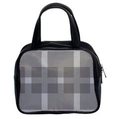 Gray Designs Transparency Square Classic Handbags (2 Sides)