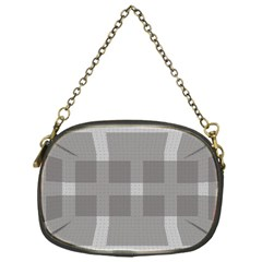 Gray Designs Transparency Square Chain Purses (one Side)