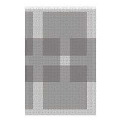 Gray Designs Transparency Square Shower Curtain 48  X 72  (small)
