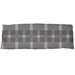 Gray Designs Transparency Square Body Pillow Case (dakimakura)