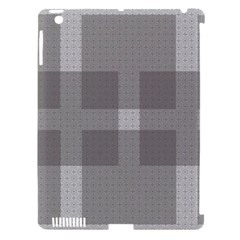 Gray Designs Transparency Square Apple Ipad 3/4 Hardshell Case (compatible With Smart Cover)