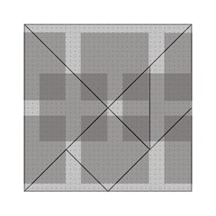 Gray Designs Transparency Square Acrylic Tangram Puzzle (6  X 6 )