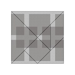 Gray Designs Transparency Square Acrylic Tangram Puzzle (4  X 4 )