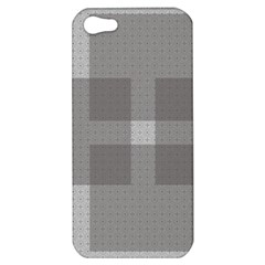 Gray Designs Transparency Square Apple Iphone 5 Hardshell Case