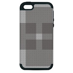 Gray Designs Transparency Square Apple Iphone 5 Hardshell Case (pc+silicone)